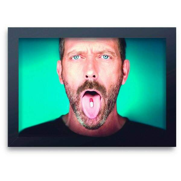 Quadro Decorativo Dr House 01