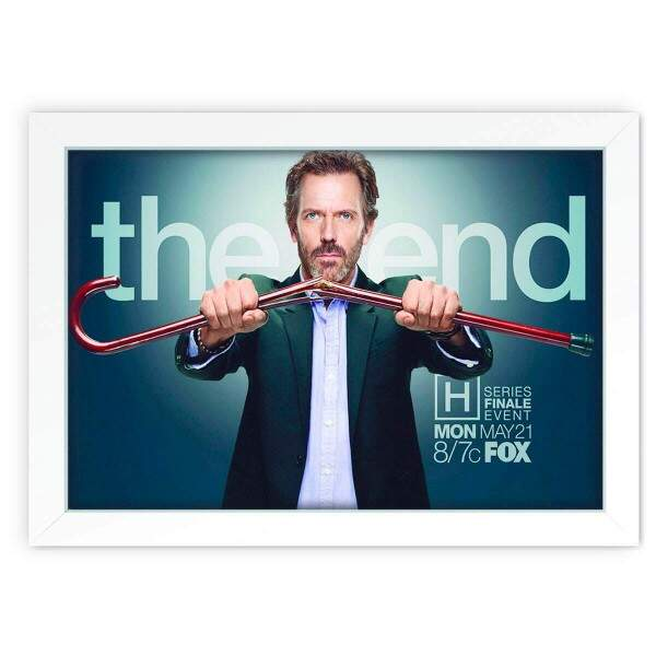 Quadro Decorativo Dr House 02