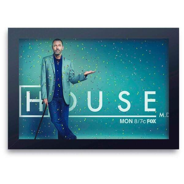 Quadro Decorativo Dr House 03