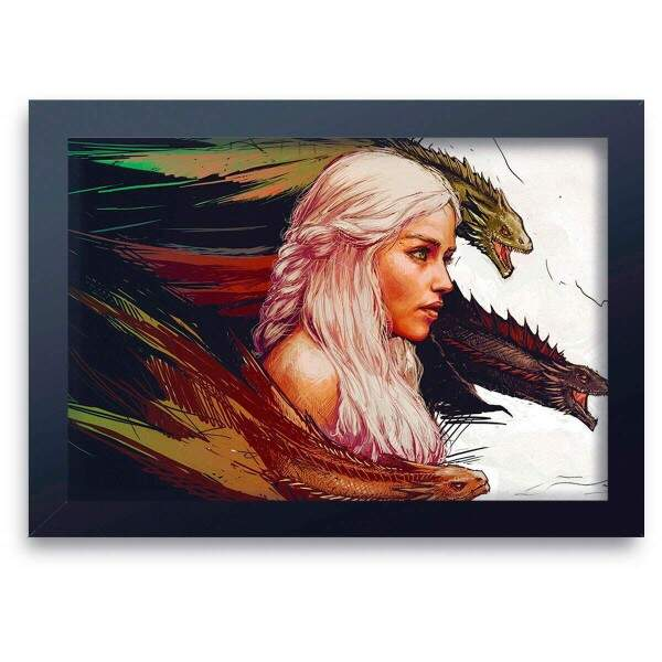 Quadro Decorativo Games of Thrones 01