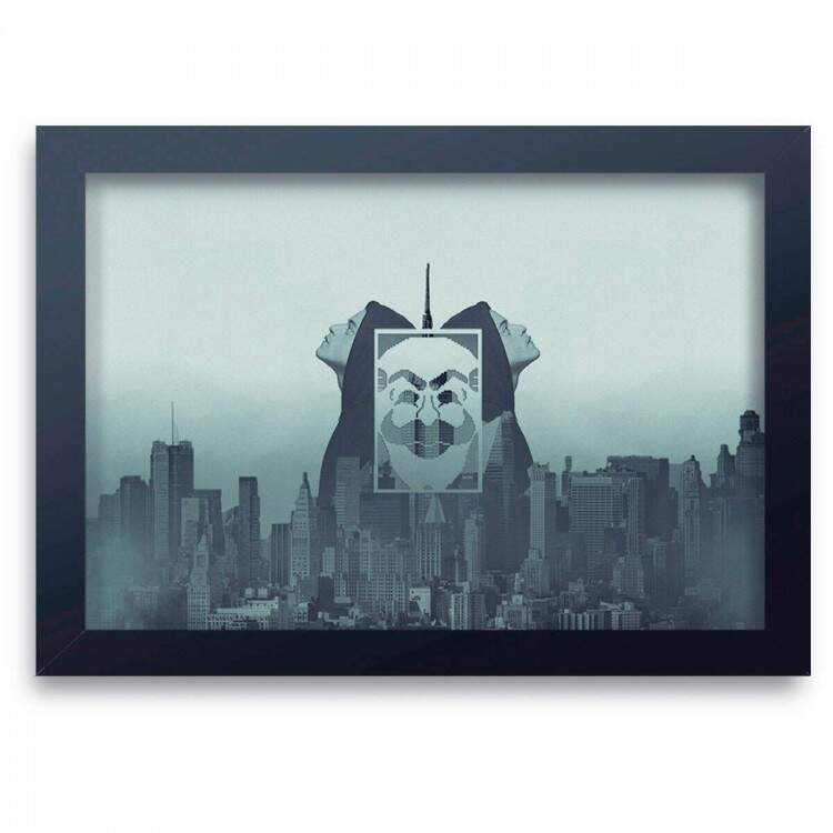 Quadro Decorativo Mr Robot 03