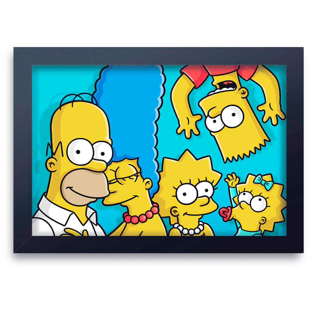 Quadro Decorativo Os Simpsons 07