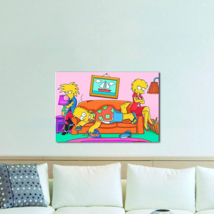 Quadro Decorativo Os Simpsons 10
