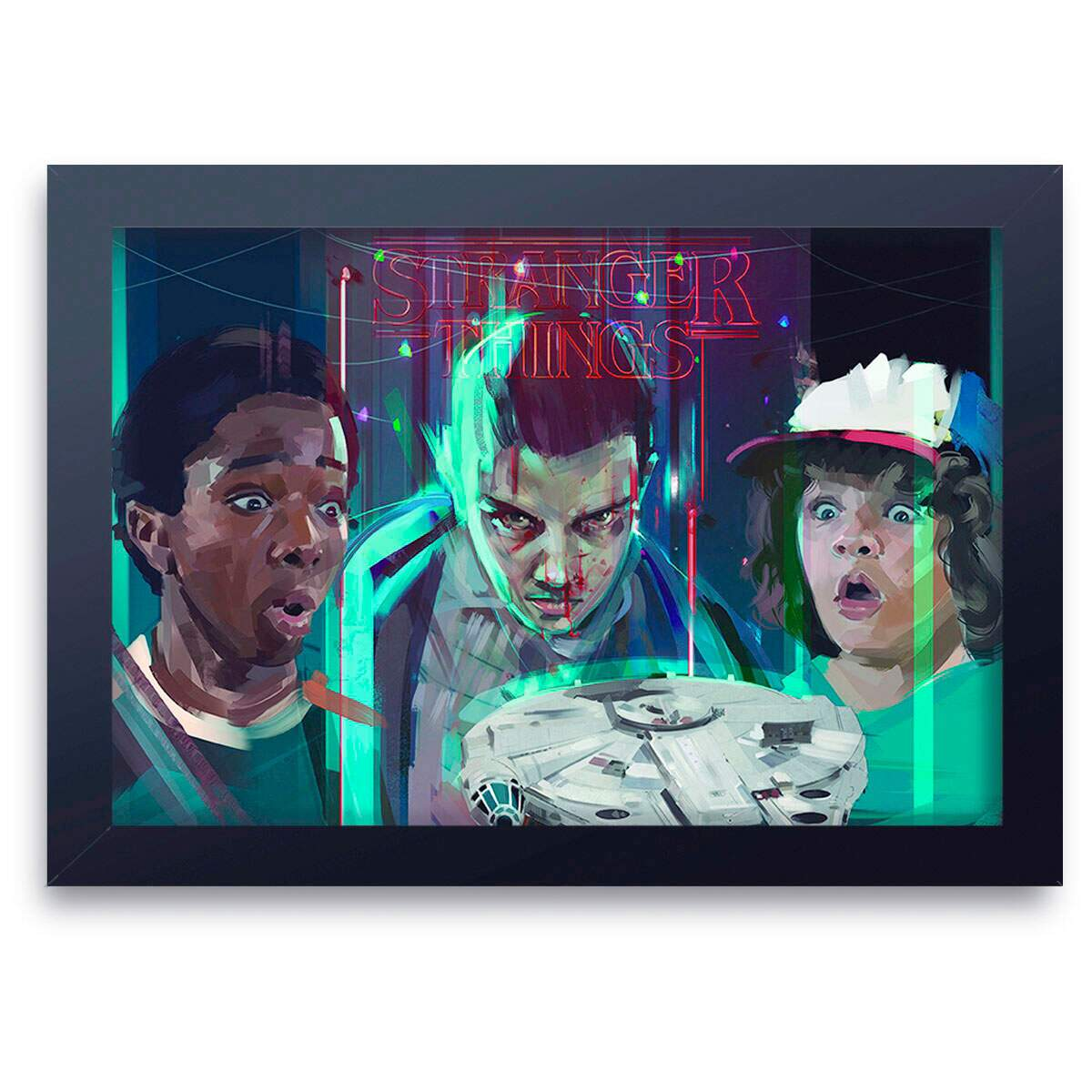 Quadro Decorativo Stranger Things 08