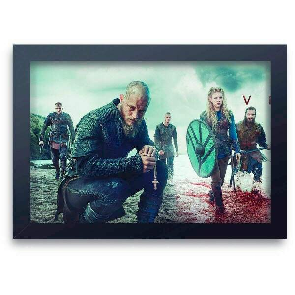 Quadro Decorativo Vikings 03