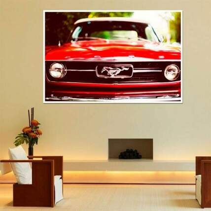 Painel Fotográfico Adesivo Ford Mustang