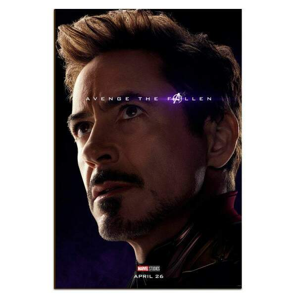 Placa Decorativa Vingadores 05 Tony Stark