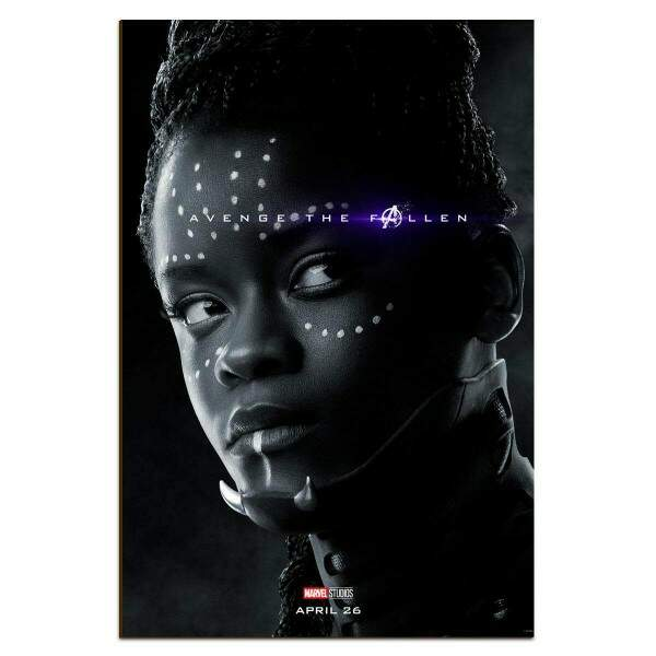Placa Decorativa Vingadores 50 Shuri