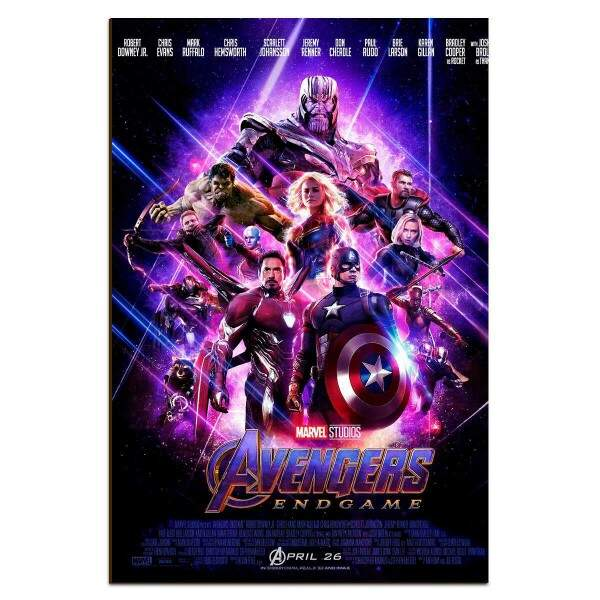 Placa Decorativa Vingadores Ultimato 10