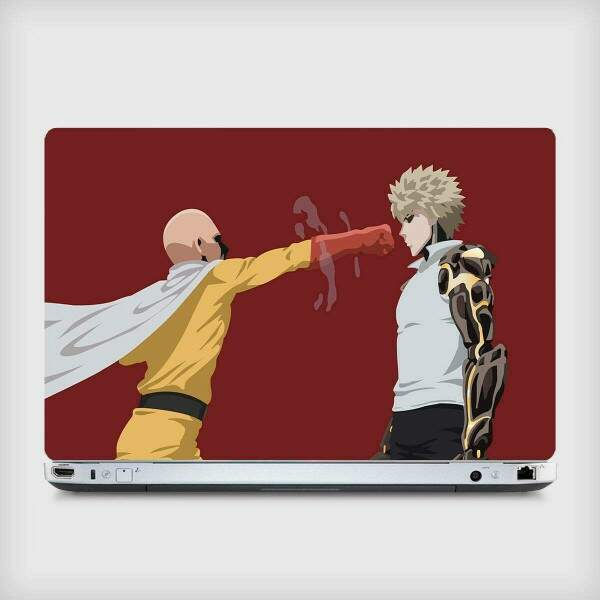 Adesivo Para Notebook Animes One Punch Man 01