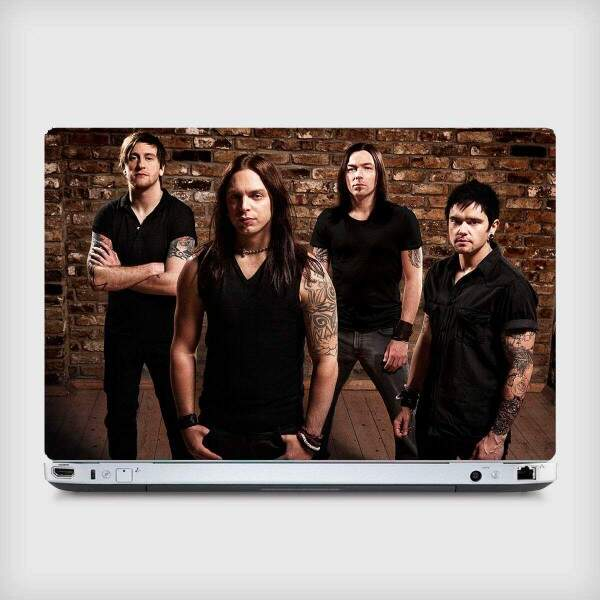 Adesivo para Notebook Bandas Bullet For My Vallentine 03