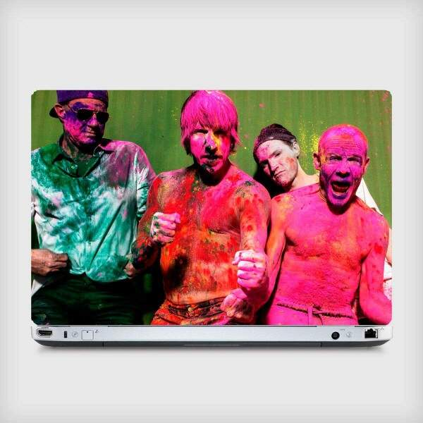 Adesivo para Notebook Bandas Red Hot Chilli Peppers 02