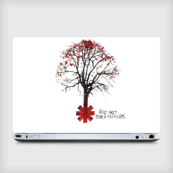 Adesivo para Notebook Bandas Red Hot Chilli Peppers 03
