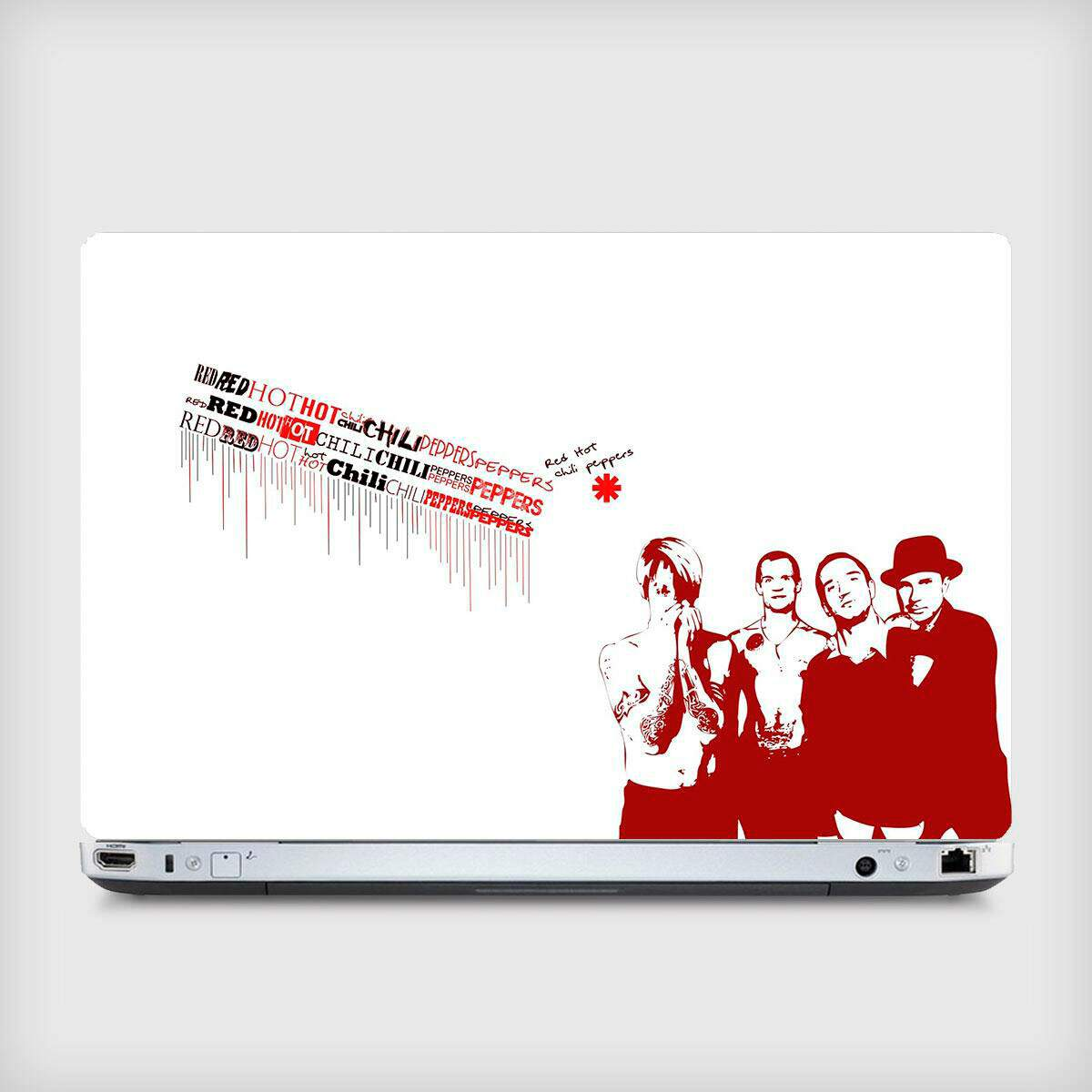 Adesivo para Notebook Bandas Red Hot Chilli Peppers 04