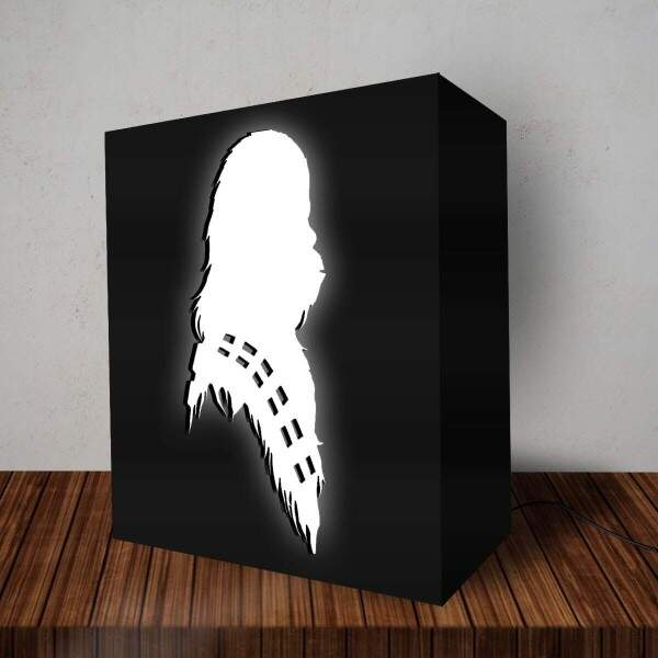 Luminária Lightbox Led Chewbacca