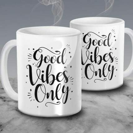 Caneca Good Vibes Only