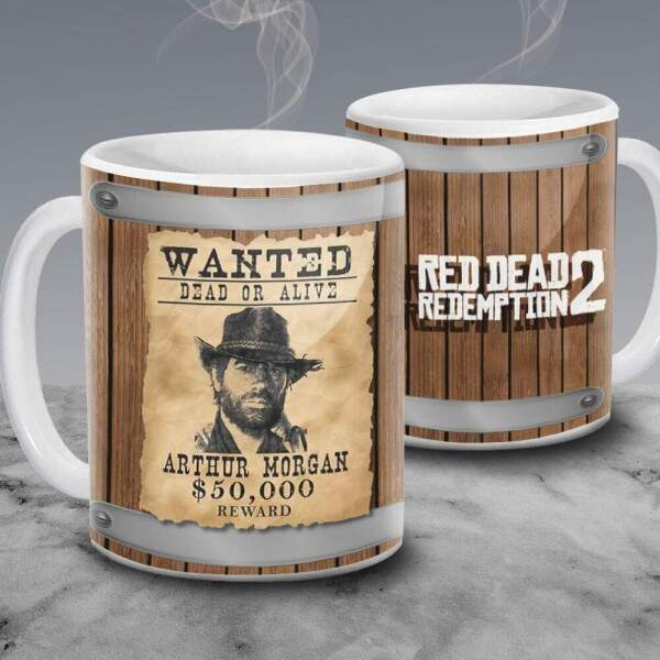 Caneca Red Dead Redemption Arthur Morgan