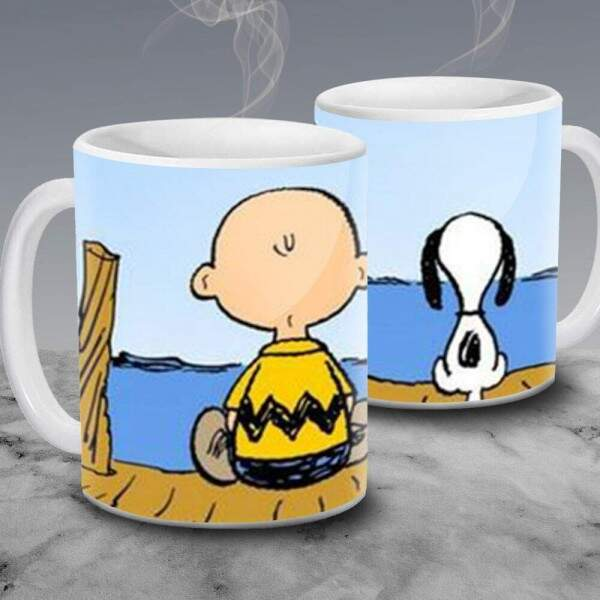 Caneca Snoopy e Charlie Brown 03