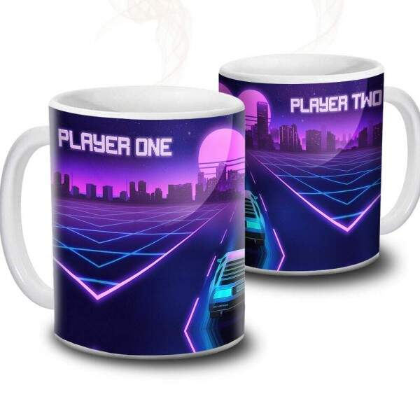 Caneca Player One Player Two
