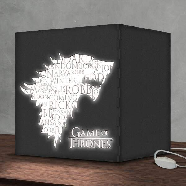 Luminária Lightbox Led Game of Thrones 02