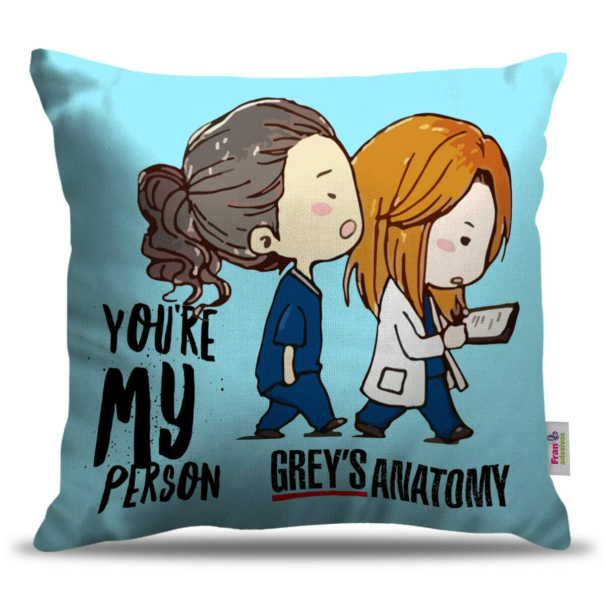 Almofada Decorativa Greys Anatomy 01