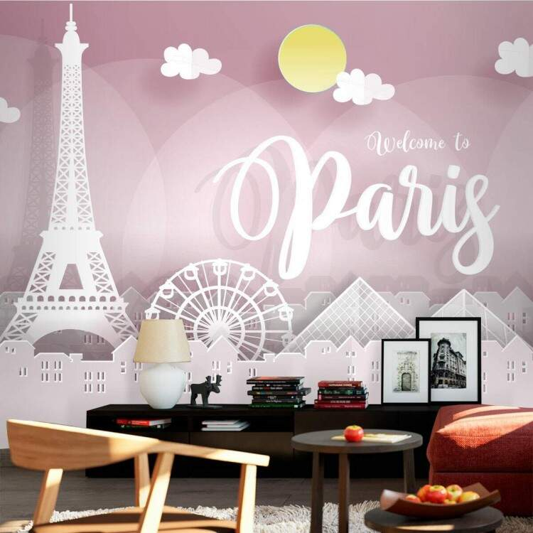 Foto Mural Welcome To Paris