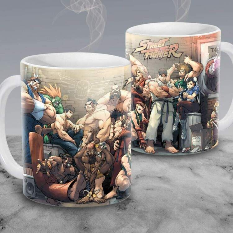 Caneca Street Fighter 01