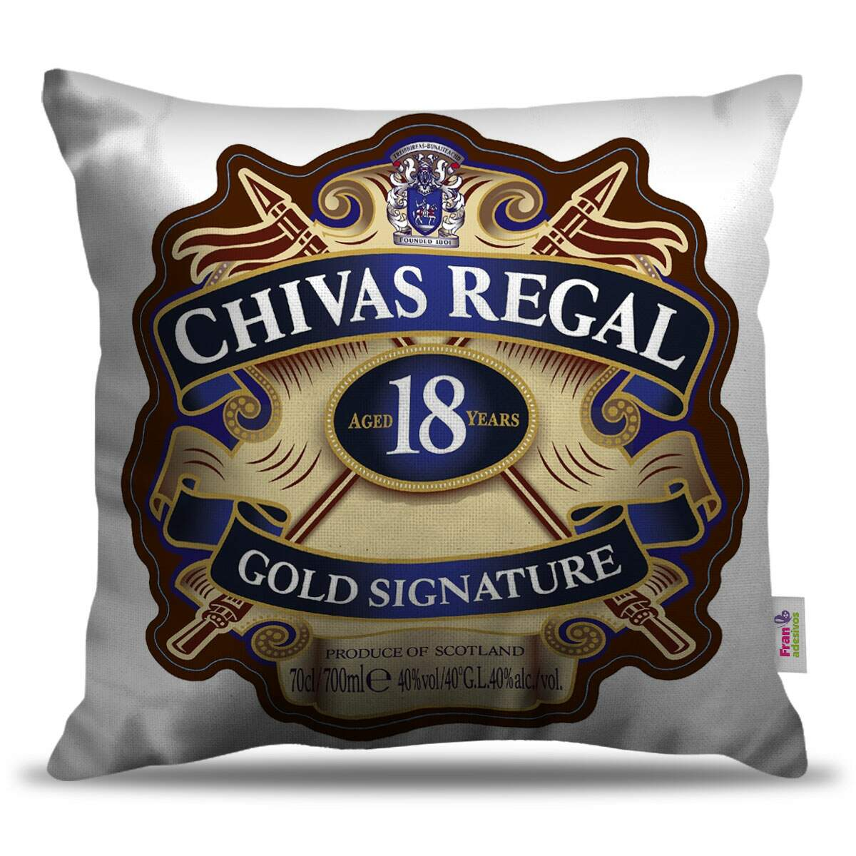 Almofada Decorativa Chivas Regal Gold Signature