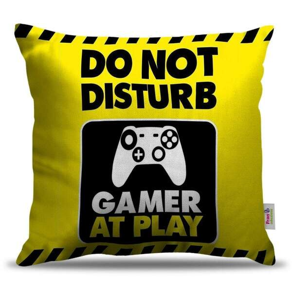 Almofada Decorativa do Not Disturb Game At Play