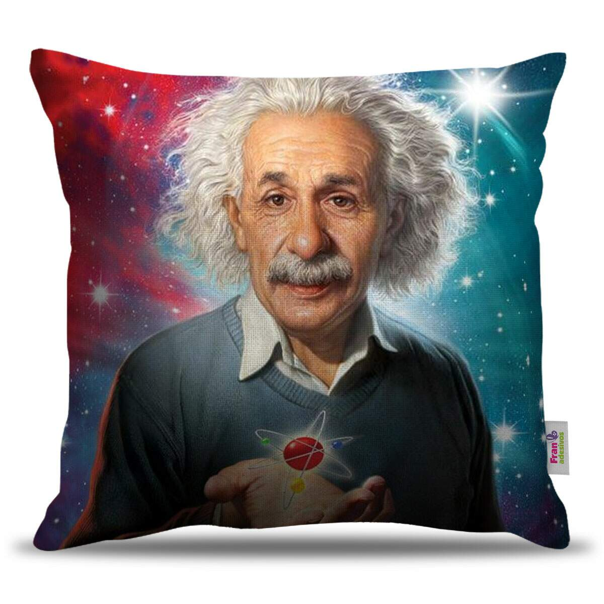 Almofada Decorativa Albert Einstein 02