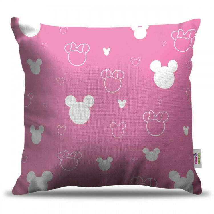 Almofada Decorativa Minnie Mouse Rosa 01