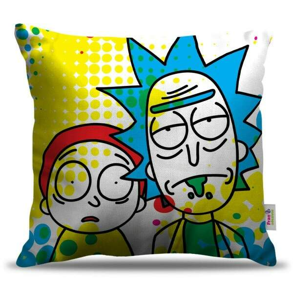 Almofada Decorativa Rick and Morty 04