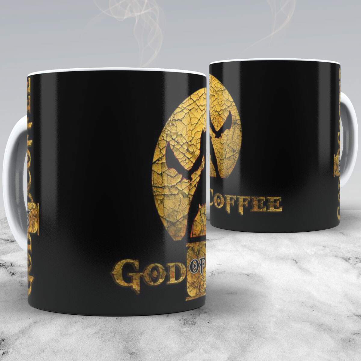 Caneca God of Coffee