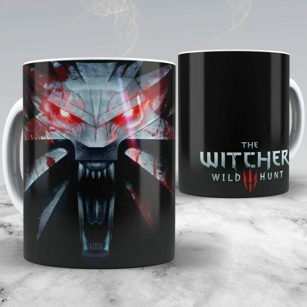 Caneca The Witcher Wild Hunt