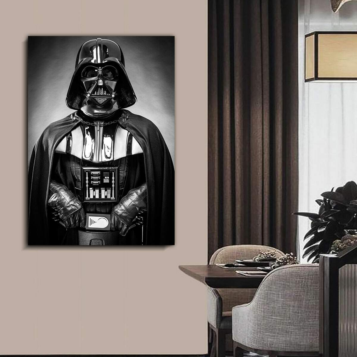 Quadro Decorativo Gigante Darth Vader