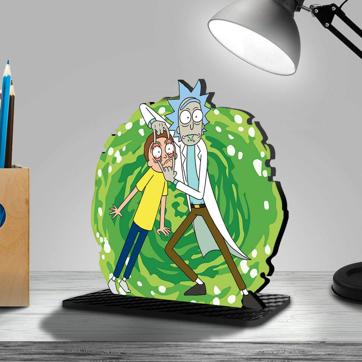 Mini Toten Display de Mesa Rick and Morty