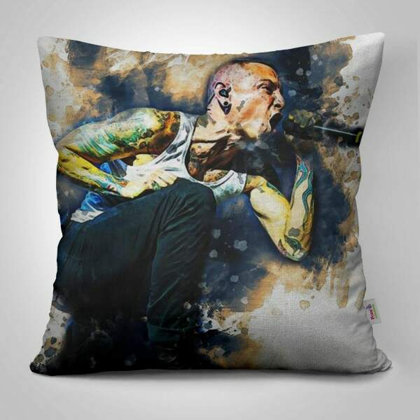 Almofada Decorativa Chester Bennington Linkin Park