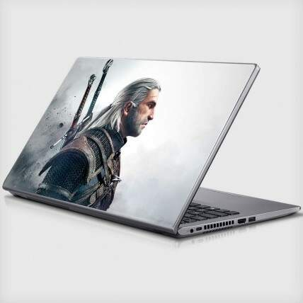 Adesivo Para Notebook The Witcher
