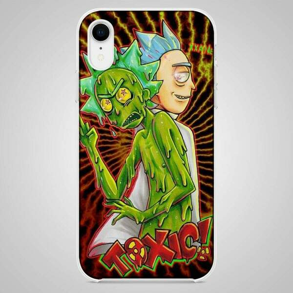 Capa para Celular Rick and Morty Toxic 12