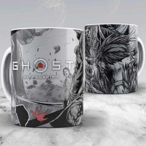 Caneca Ghost of Tsushima