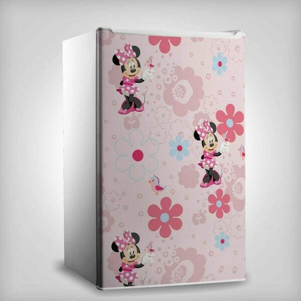 Envelopamento Frigobar Porta Minnie Mouse