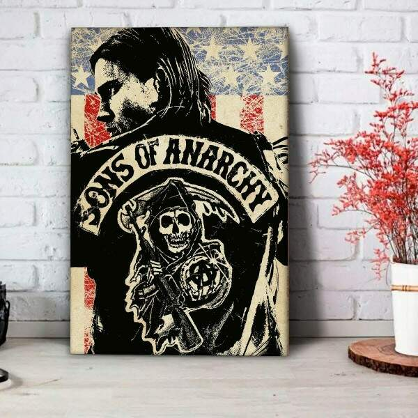 Placa Decorativa Sons of Anarchy