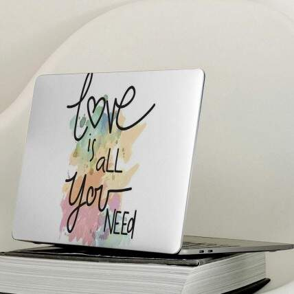 Adesivo Para Notebook Love Is All You Need