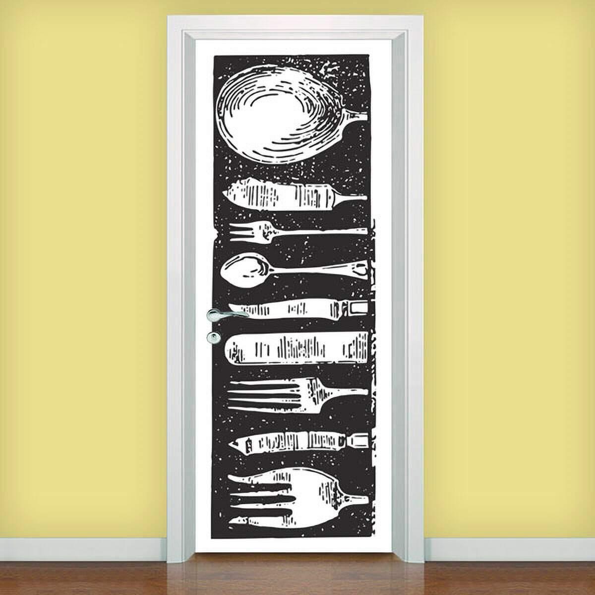 Adesivo para porta cozinha 01