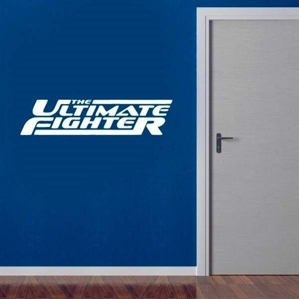Adesivo de parede decorativo The Ultimate Fighter