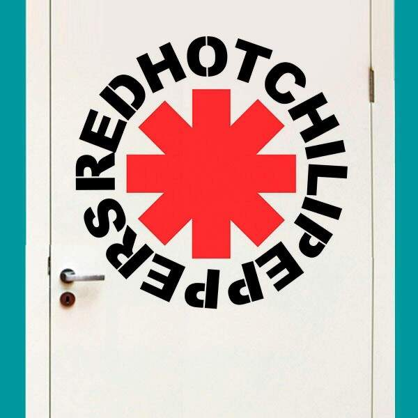 Adesivo de Parede Red Hot Chili Peppers