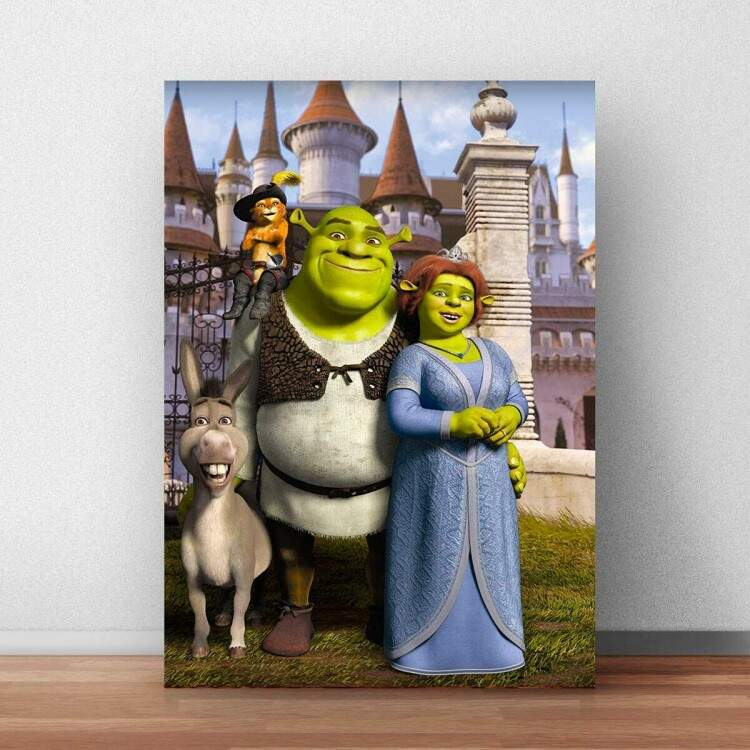 Quadro Decorativo Shrek