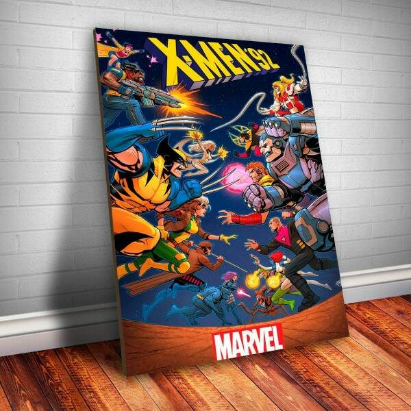 Placa Decorativa Marvel - X Men