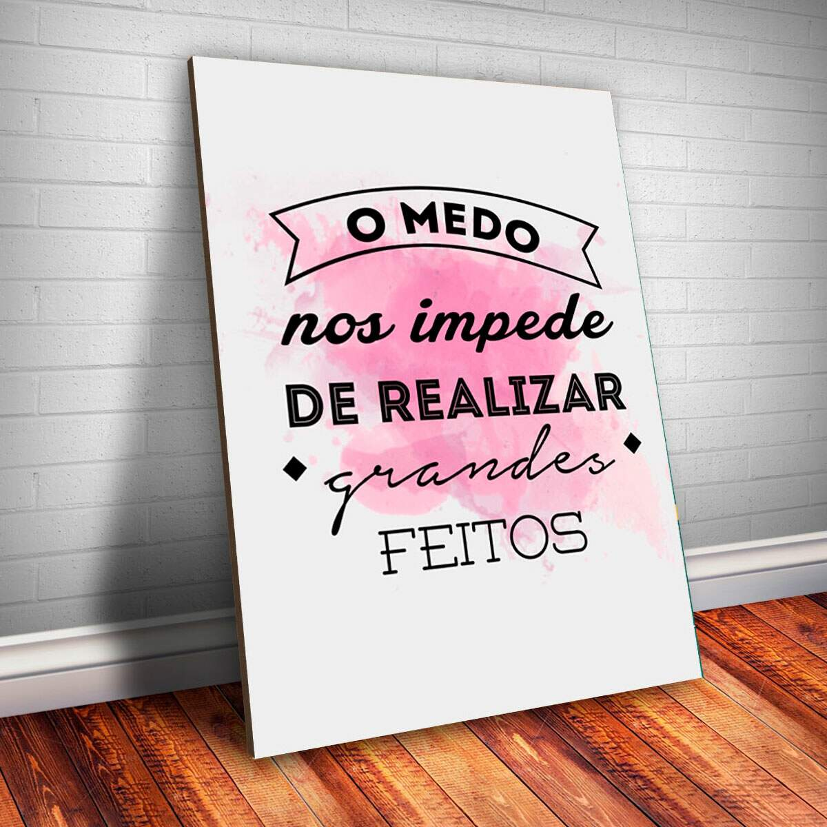 Placa Decorativa Frase 3