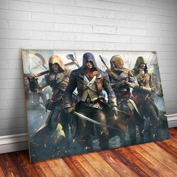 Placa Decorativa Assassins Creed 3